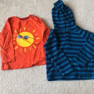 18-24M set of two Gymboree shirts